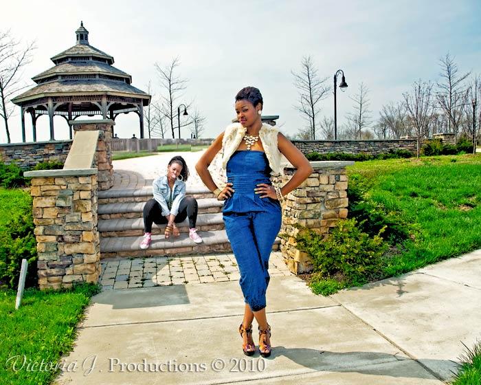 The Urban Girl and Fashion Model Merge