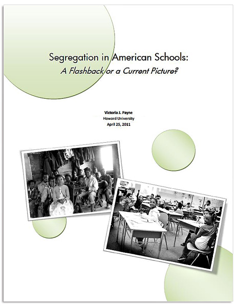 the issues of segregation in american schools