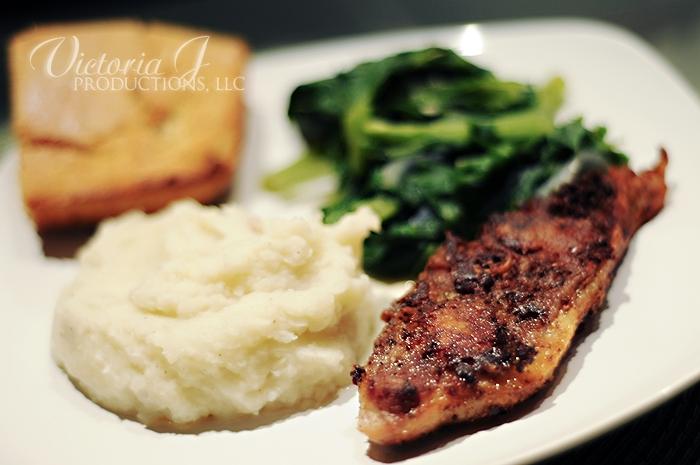 Turkey Chop Dinner