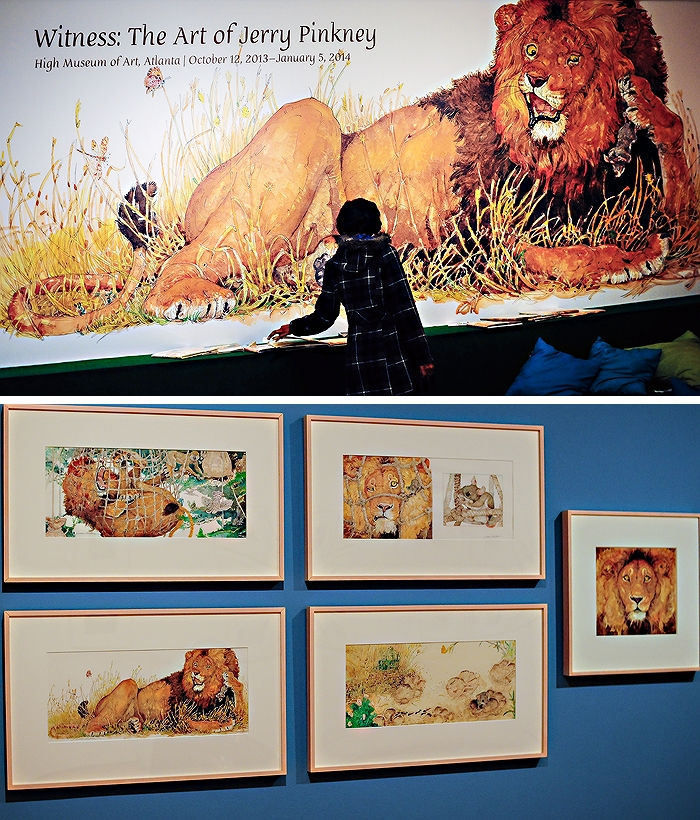 Jerry Pinkney Exhibit