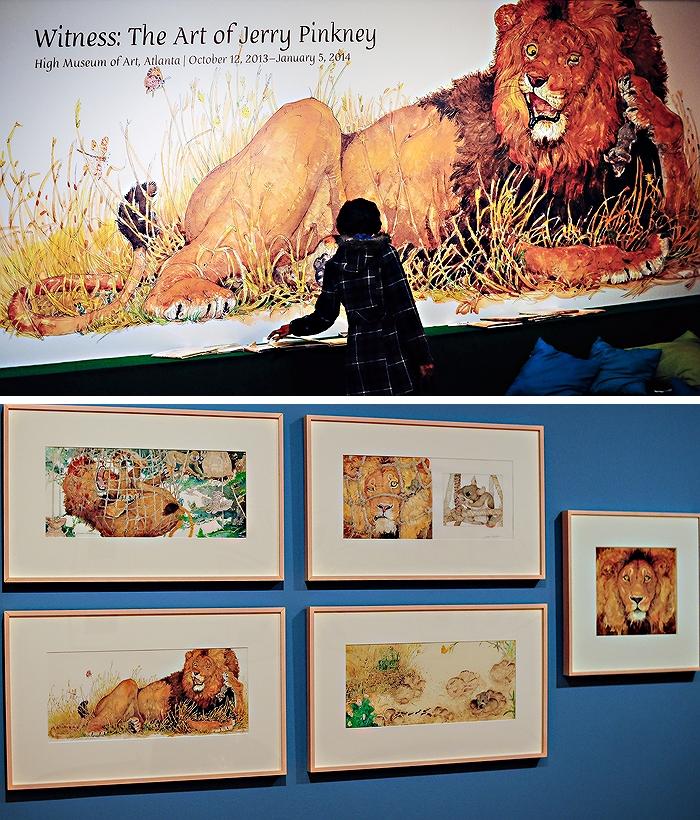 Jerry Pinkney Exhibit