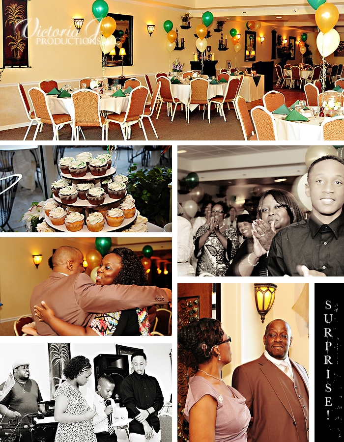 Sneak Peek from Surprise Birthday Party (collage 1)